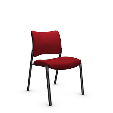 Global Zoma Designer – Chaise, tissu imprimé Candy Apple, rouge