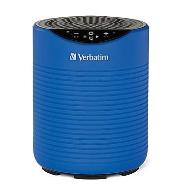 Verbatim - Haut-parleur sans fil Bluetooth hydrofuge, bleu