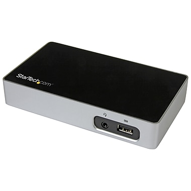 StarTech® DVI Docking Station for Laptops, USB 3.0