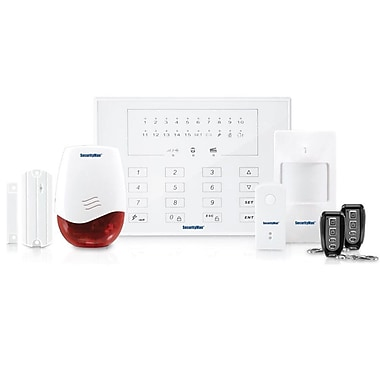 SecurityMan AIR-ALARMII Wireless Home Alarm System Kit With Doorbell