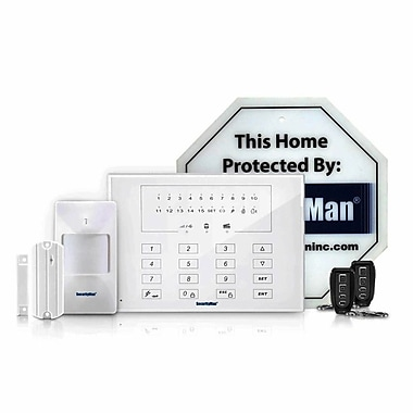 SecurityMan AIR-ALARMIIE Kit of DIY Wireless Smart Home Alarm System