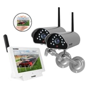 SecurityMan DIGILCDNDVR2 iSecurity Digital Wireless Cameras with 8G SD Card