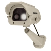 SecurityMan Solar Powered Spotlight Dummy Camera with PIR Body Heat Motion Sensor (DUMCAM-SLM)