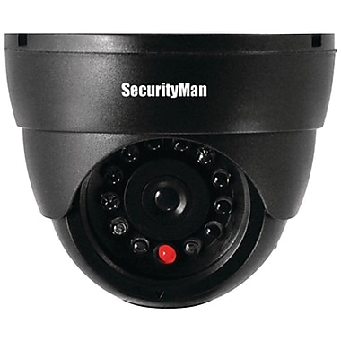 SecurityMan SM-320S Dummy Indoor Dome Camera w/LED