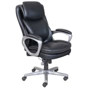 Serta® - Fauteuil de direction SmartLayers™ Arlington Air™, noir