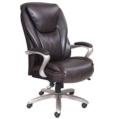 Serta® - Fauteuil de luxe SmartLayers™ Hensley Big & Tall, brun
