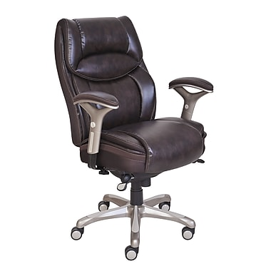 Serta® - Fauteuil de direction SmartLayers™ Benson, brun