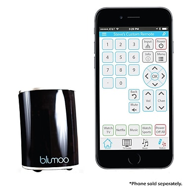Blumoo Universal Remote Control Smartphone App for Audio Video Gear