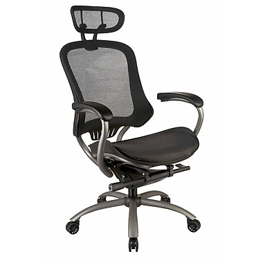 TygerClaw Professional Air Grid High Back Office Chair with Headrest, 26