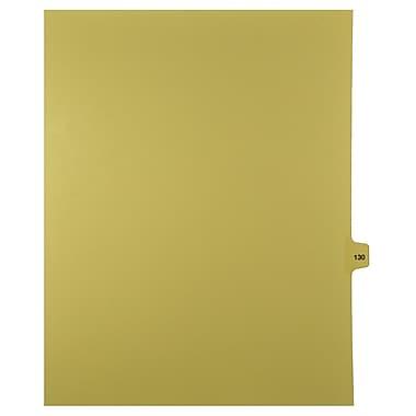 Mark Maker – Onglets séparateurs juridiques beiges, 1/15 onglets, format lettre, sans trous, numéro 130, 25/paquet