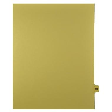 Mark Maker – Onglets séparateurs juridiques beiges, 1/15 onglets, format lettre, sans trous, numéro 148, 25/paquet