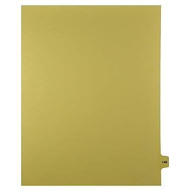 Mark Maker – Onglets séparateurs juridiques beiges, 1/15 onglets, format lettre, sans trous, numéro 149, 25/paquet