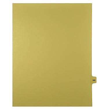 Mark Maker – Onglets séparateurs juridiques beiges, 1/15 onglets, format lettre, sans trous, numéro 162, 25/paquet