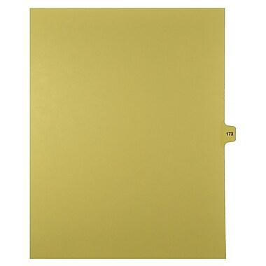 Mark Maker – Onglets séparateurs juridiques beiges, 1/15 onglets, format lettre, sans trous, numéro 173, 25/paquet