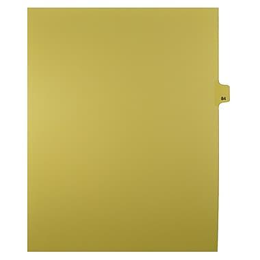 Mark Maker – Onglets séparateurs juridiques beiges, 1/25 onglets, format lettre, sans trous, numéro 84, 25/paquet