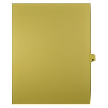 Mark Maker – Onglets séparateurs juridiques beiges, 1/25 onglets, format lettre, sans trous, numéro 89, 25/paquet