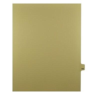 Mark Maker – Onglets séparateurs juridiques beiges, 1/25 onglets, format lettre, sans trous, numéro 144, 25/paquet