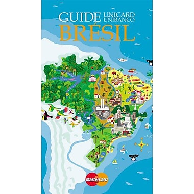 Guide Bresil (BRAZIL UNIBANCO TRAVEL GUIDE) (French Edition), Used Book (9788586518492)