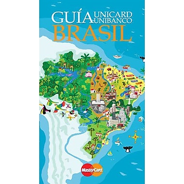 Guia Brasil (BRAZIL UNIBANCO TRAVEL GUIDE) (Spanish Edition), New Book (9788586518485)