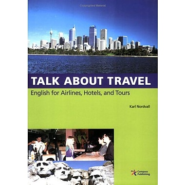 Talk About Travel, English for Airlines, Hotels, and Tours (with Audio CD), Used Book (9788984462243)