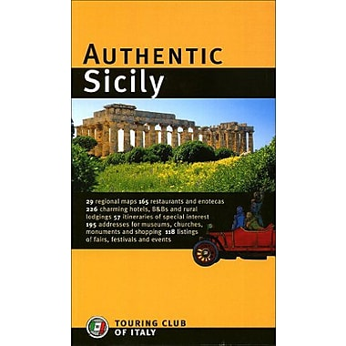 Authentic Sicily (Authentic Italy), New Book (9788836534036)