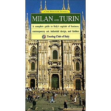 Milan and Turin: A Complete Guide to Italy's Capitals of Business, Contemporary Art, Industrial Desig, Used Book (9788836515196)