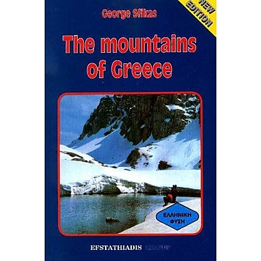 Mountains of Greece, New Book (9789602260678)
