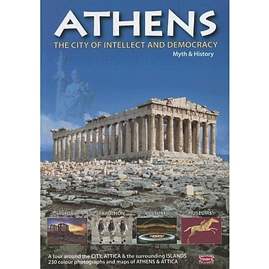 Athens: The City of Intellect and Democracy (Greek Guides), New Book (9789605402167)