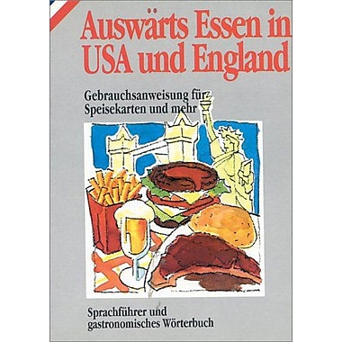 Auswarts Essen in USA und England (in German) (How to Eat Out in), New Book (9788873011057)
