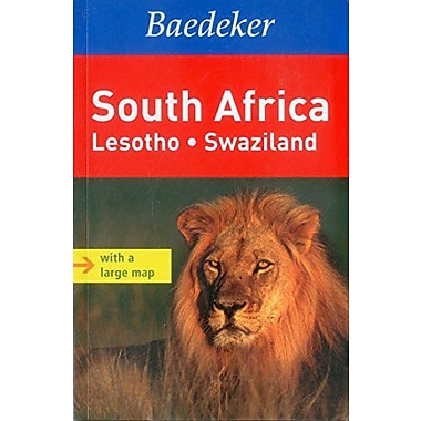 South Africa Baedeker Guide: Lesotho, Swaziland (Baedeker Guides), Used Book (9783829765497)