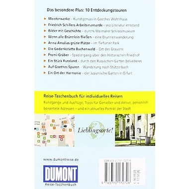 Weimar und Umgebung (9783770172726)