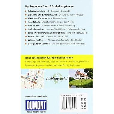 Mecklenburgische Seenplatte, Used Book (9783770172399)