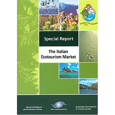 The Italian Ecotourism Market (Special Report Series), Used Book (9789284404964)