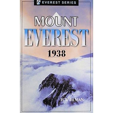 Mount Everest 1938, New Book (9788177691757)