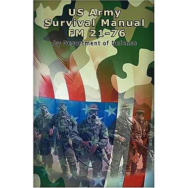 US Army Survival Manual: FM 21-76, New Book (9789562914475)