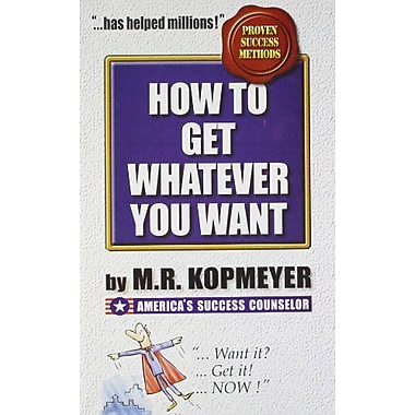 How to Get Whatever You Want, Used Book (9788185944418)