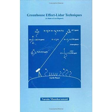 Green House Effect-Lidar Techniques, New Book (9788175257894)