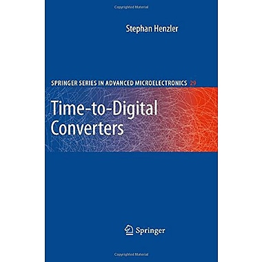 Time-to-Digital Converters (Springer Series in Advanced Microelectronics), Used Book (9789048186273)
