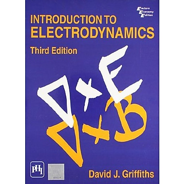 Introduction to Electrodynamics (3rd Edition), New Book (9788120316010)
