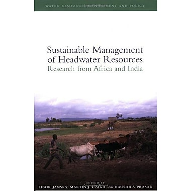 Sustainable Management of Headwater Resources: Research from Africa and India(Water Resources Managem (9789280811087)