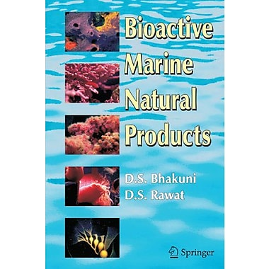 Bioactive Marine Natural Products, New Book (9789048168750)