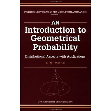 An Introduction to Geometrical Probability: Distributional Aspects with Applications(Statistical Dist, Used Book (9789056996819)
