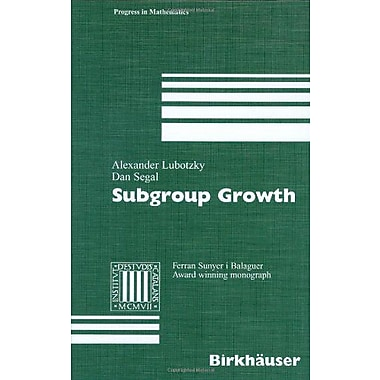 Subgroup Growth (9783764369897)