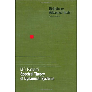 Spectral Theory of Dynamical Systems (Birkhauser Advanced Texts Basler Lehrbucher), New Book (9783764358174)