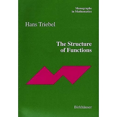 The Structure of Functions, New Book (9783764365462)