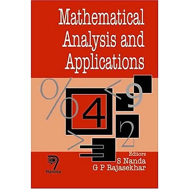 Mathematical Analysis and Applications (9788173195976)