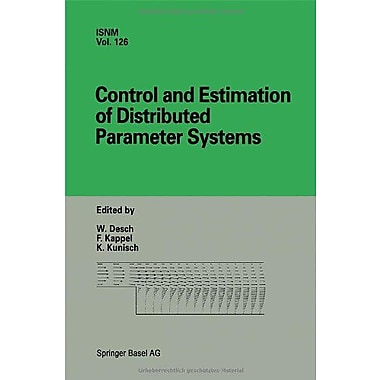 Control and Estimation of Distributed Parameter Systems: International Conference in Vorau, Austria, , Used Book (9783764358358)