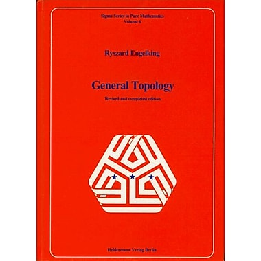 General Topology (Sigma Series in Pure Mathematics), Used Book (9783885380061)