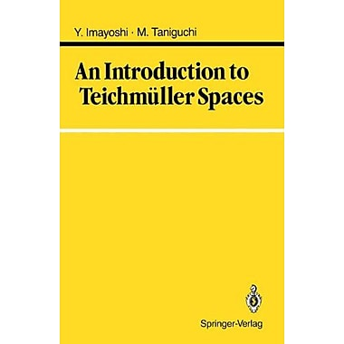 An Introduction to Teichmuller Spaces (9784431700883)