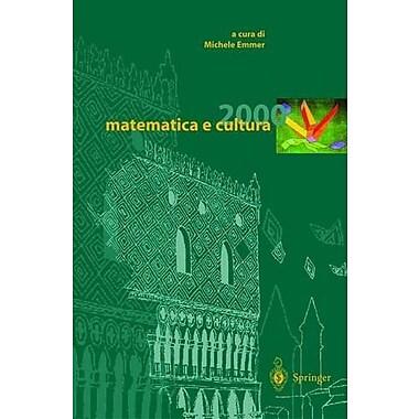 matematica e cultura 2000 (Italian Edition) (9788847001022)